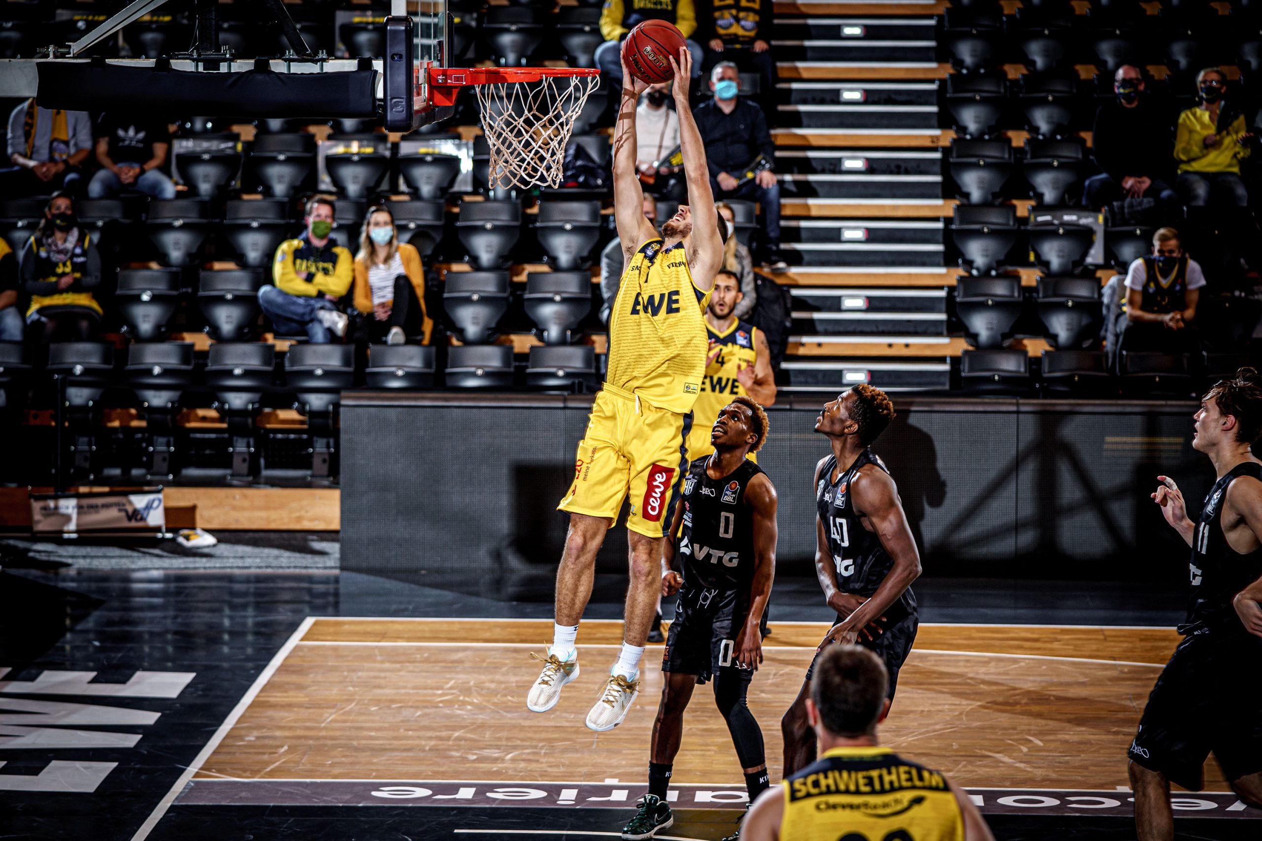 Crédito: EWE Baskets Oldenburg